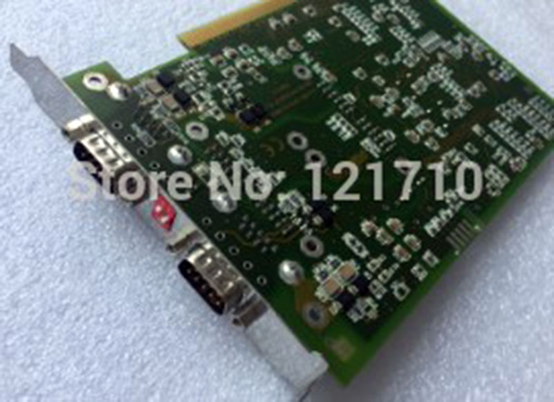board SOTING GMBH CAN-AC2-PCI/HW/LP V.10 4DH6111 CAN-AC2-I/HW V1.01